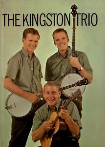KINGSTON-TRIO-1960-SOLD-OUT-TOUR-CONCERT-PROGRAM-BOOK-DAVE-GUARD-NMT-2-MINT