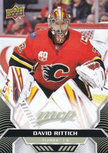 #167 David Rittich 2020//21 MVP hockey sur glace débutant