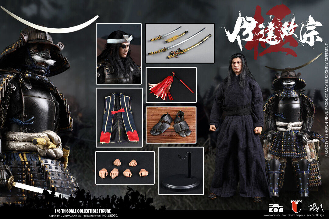 1 6 COOmodellololo SE051  Series of Empires Date Masamune Solider cifra Collectible  Nuova lista