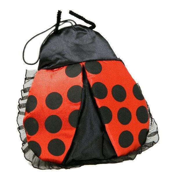 Marienkäferhandtasche sexy Marienkäfer Handtasche schwarz rot Fasching Karneval