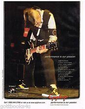 Epiphone - My Chemical Romance - Frank Iero - 2005 Print Advertisement