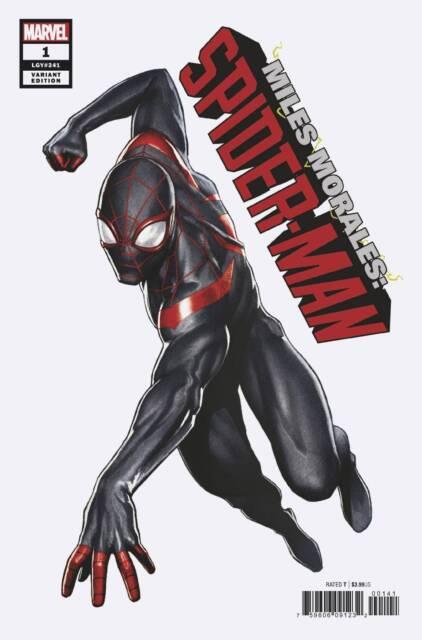 (2018) Miles Morales Spider-Man #1 Adi Granov 1:25 Variant Cover