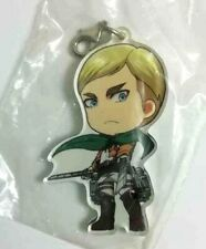 Bandai Attack on Titan Gashapon Mini Figure Keychain Swing P2 Erwin Smith