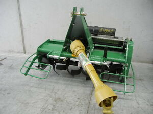 HAYES-4FT-MEDIUM-DUTY-PTO-TRACTOR-ROTARY-HOE-TILLER-3-POINT-LINKAGE