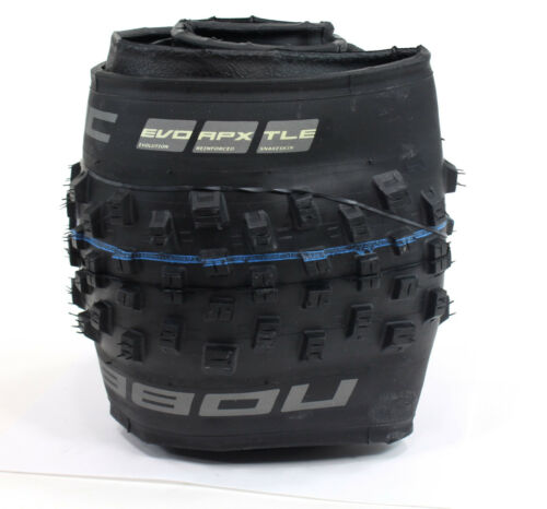 "Schwalbe Nobby Nic Tire 27.5 x 2.8/"" Tubeless Easy w//Apex casing/&Addix SpeedGrip"