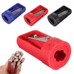 Pro-Zimmermann-Bleistiftspitzer-Cutter-Rasierer-Sch-rfen-Werkzeug-Kstr-flYfE