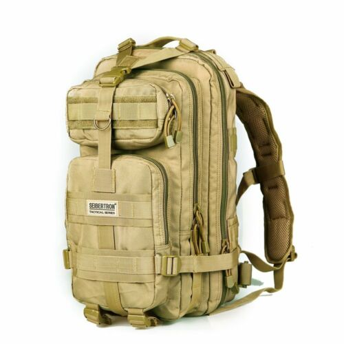 Seibertron Tactical Backpack For Hiking Camping Climbing Travel Molle waterproof