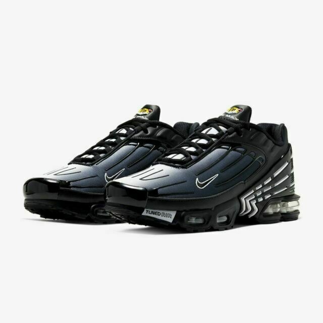 Size 8.5 - Nike Air Max Plus 3 Black - CD7005-003 for sale online ...