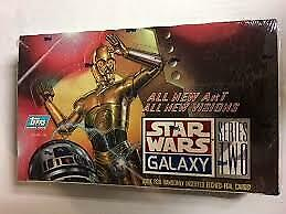Star Wars Galaxy Series 2 Deluxe Trading Cards Box