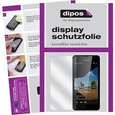 6x Microsoft Lumia 550 Schutzfolie Display Folie klar Displayschutzfolie dipos