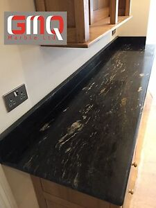 Details about Cosmic Black Granite worktops | All colours Available