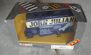 Vintage-Corgi-Classics-Bedford-O-Series-Pantechnicon-John-Julian-Truck-NIB-97080