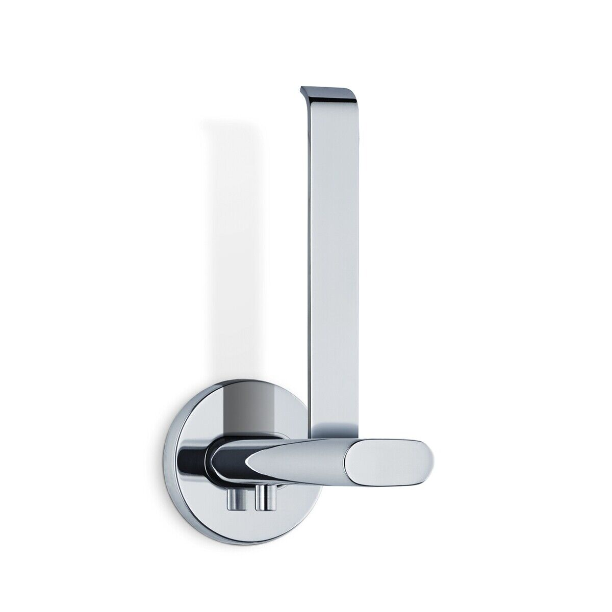 Blomus Areo Polished Spare Toilet Roll Roll Roll Holder H15cm x W5.5cm x D10cm 41d6c4