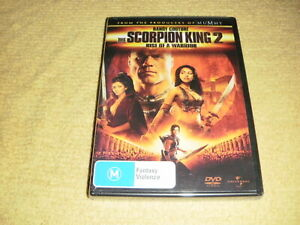 THE-SCORPION-2-Rise-Of-A-Warrior-2008-DVD-NEW-amp-SEALED-action-sci-fi-mummy-R4