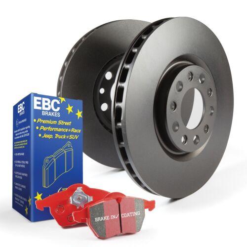 EBC Brakes S12KF1119 S12 Kits Redstuff and RK Rotors Fits Impreza WRX WRX STI