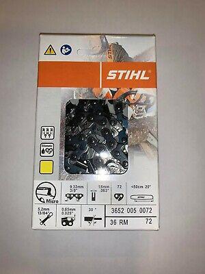 STIHL 20/'/' 36RM 72 CHAINSAW CHAIN 3652 005 0072