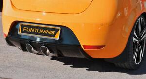 Sportauspuff Heckdiffusor für Seat Leon 1P Cupra FR R32 Duplex Auspuff Diffusor