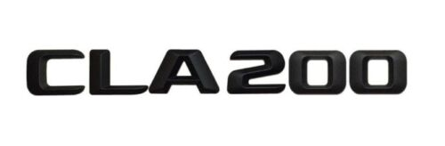 Matt schwarz Heck Stamm CLA200 Schriftzug Abzeichen für Mercedes Benz CLA Klasse
