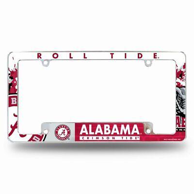 Alabama Crimson Tide Car Tag Frame Licensed NCAA Product