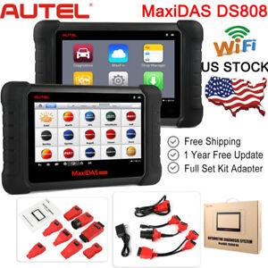 AUTEL-MaxiDAS-DS808K-ECU-Coding-OBD2-Fault-Code-Reader-Auto-Diagnostic-Scan-Tool