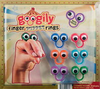 12 Oobi Googly Googily Noggin Finger Puppets Party Favors Carnival Goody Bags