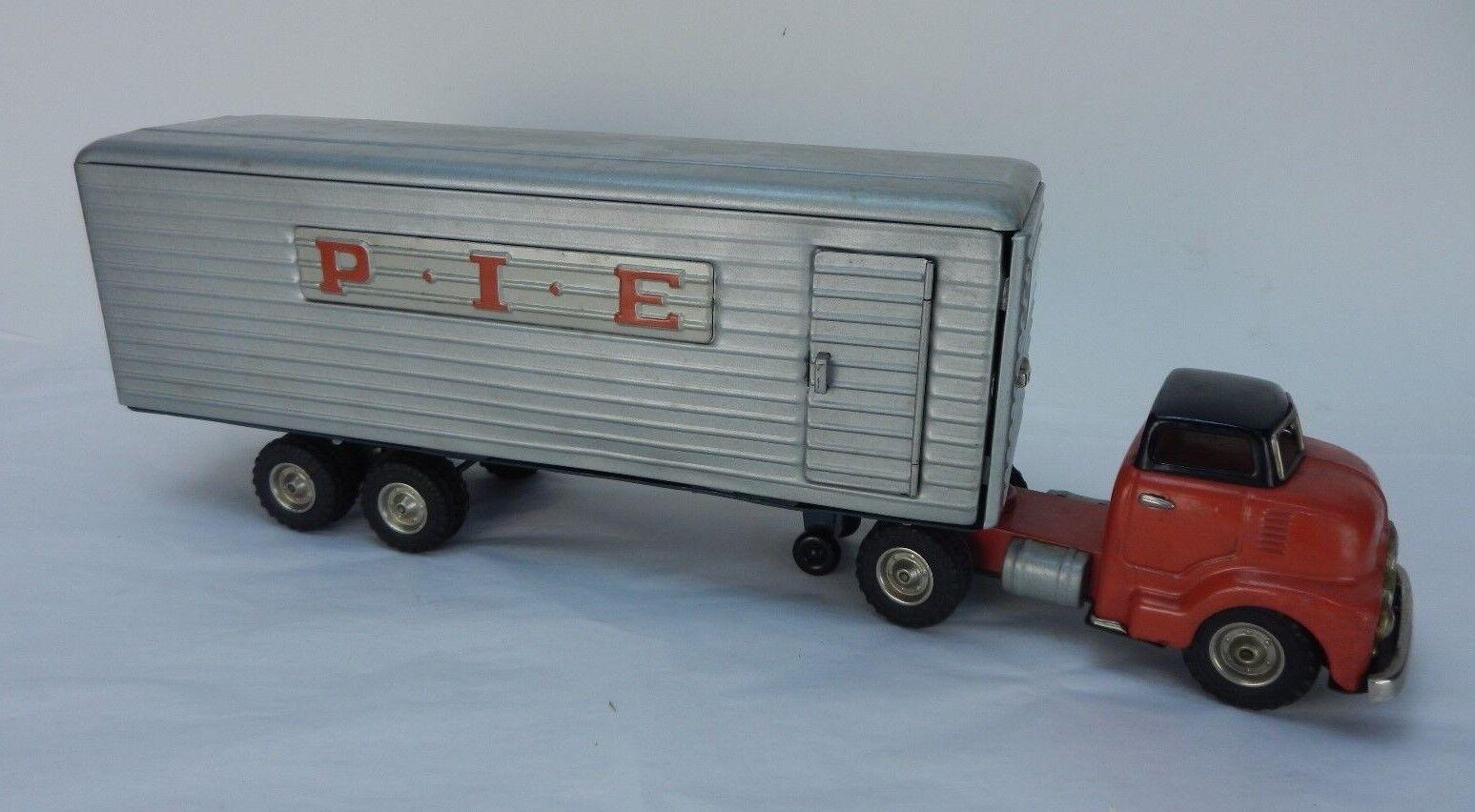 Vintage SSS Toys TARTE EXPRESS Tin Litho Camion