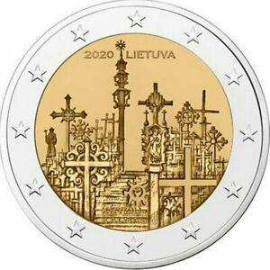 2-euro-commemorative-Lituanie-2020-Colline-des-croix-Lituania-Litauen-Lithuania