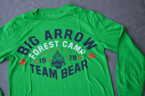 GREEN 10-12  /& 18-20 YEARS NEW Chaps Boys Printed T Shirt 8 SIZES