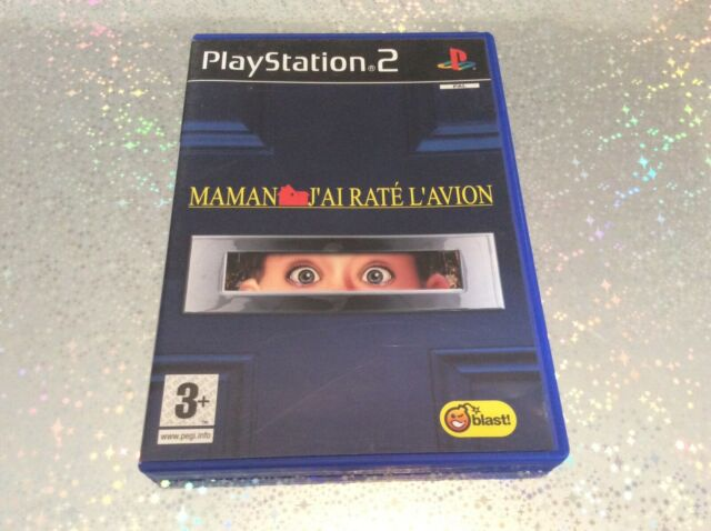 PS2 Maman J'ai Rate L'avion PLAYSTATION 2 SONY PAL FR COMPLET