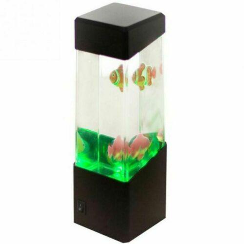 2020 Jellyfish Aquarium LED Multicolor Lighting Fish Tank Mood Lamp Night Light