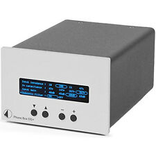 Pro-Ject Phono Box DS+ Plus Premium Phonovorverstärker MM/MC preamplifier silber