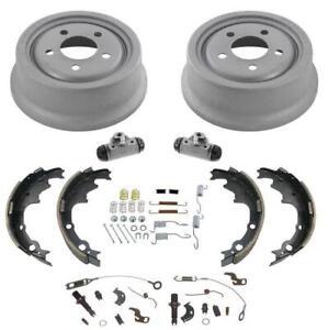 "Standard Smaller Size Rear 9/"" Brake Drums /& Brake Shoes for 98-2008 Ford Ranger"