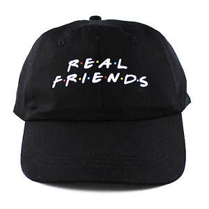 d166213a6e1f9 Real Friends 6 panel cap strapback polo dad hat 6 sad boys kanye ...