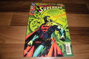 SUPERMAN  #  34 -- das Heft nach dem Time-Warp // 1. Auflage 1998