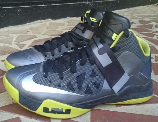 64812af8d3ab3 Nike Lebron Zoom Soldier VI Mens Basketball Shoes 525015-010 Cool Grey 11 M  US for sale online