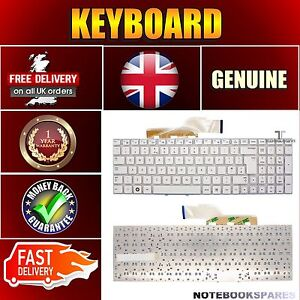 Details about NEW SAMSUNG NP3530EA-A01DX NP3530EA-A02DX Laptop Keyboard  Layout White Matte