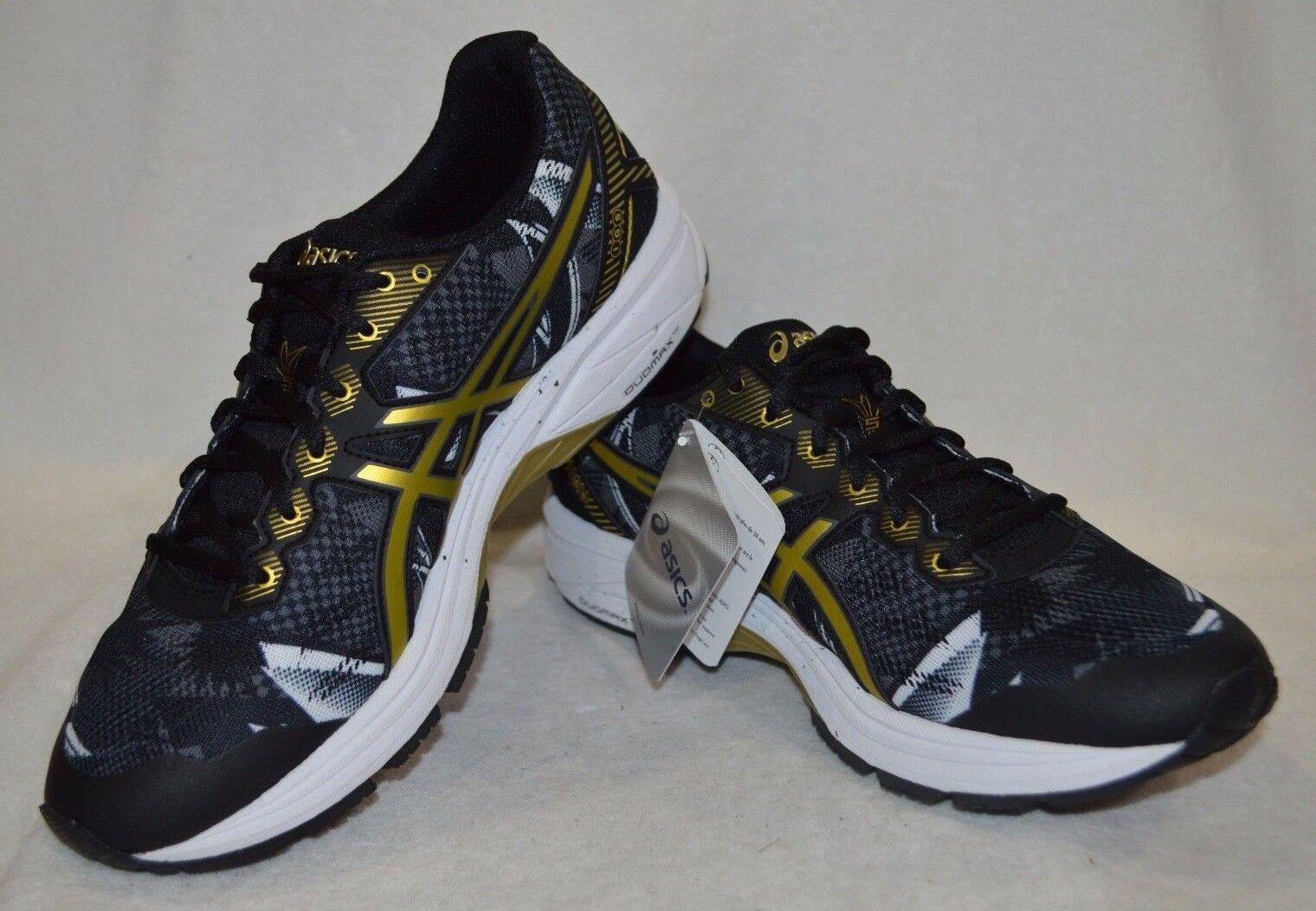 Le gt-1000 5 gr nero nero gr / oro uomini ricchi scarpe da corsa t6b2n - numero 9 / 10 nwb 45a94c