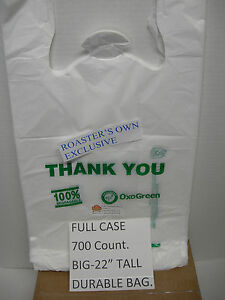 5-cs-LOT-700-COUNT-100-OXO-BIODEGRADABLE-PLASTIC-BAG-RECYCLABLE-ECO-TAKE-OUT