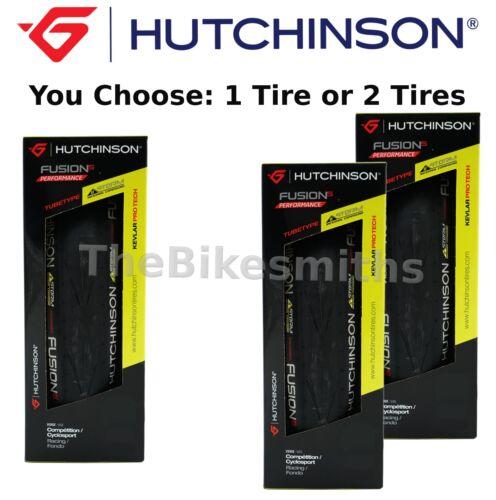 28 Kevlar Folding Road Bike Tire NEW Hutchinson Fusion-5 Performance 700 x 23