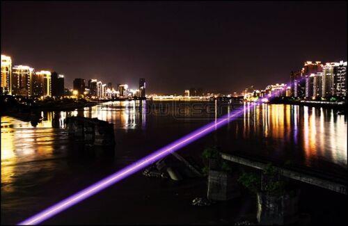 GVW2-A 405nm Blue-Violet Laser Pointer Adjustable focus Laser Pen Burn Matches