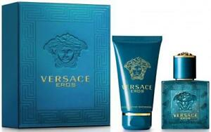 Versace Eros 2 Pcs Set for Men 3.4 Oz EDT & Shower GEL 100ml