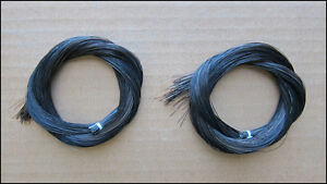 Bow-Hair-Black-Horsehair-2-Hanks-for-Violin-Viola-Cello