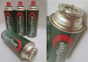 OUTDOOR-Camping-Cooking-FISHING-CARAVAN-4-BUTANE-Push-in-GAS-CARTRIDGE