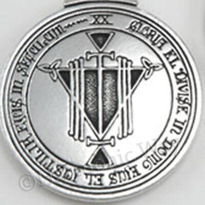 RICHES TALISMAN Necklace Solomon Seal of Magic Wealth Amulet Prosperity Pendant