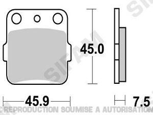 Plaquettes-de-frein-arriere-Quad-Yamaha-YFM-250-Raptor-2008-a-2011-S1059A