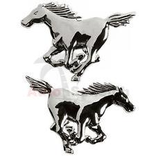 Mustang Emblem Zeichen Chrom Schriftzug Aufkleber Logo Pferd Pony Horse für Ford