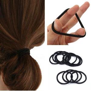50pcs-Small-Black-Elastic-Hair-Ties-Band-Ropes-Ring-Ponytail-Holder-Accessories