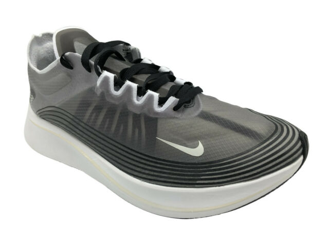 d862569ab4ca7 Mens Nike Zoom Fly SP Running Shoes Sz 9 Black White Aj9282 001 for sale  online