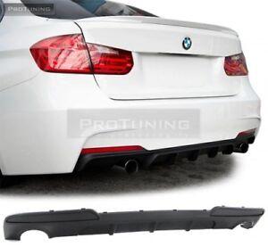 Diffusor-For-BMW-5-F10-F11-Rear-Sport-Bumper-M-Diffuser-PERFORMANCE-TWO-SIDED