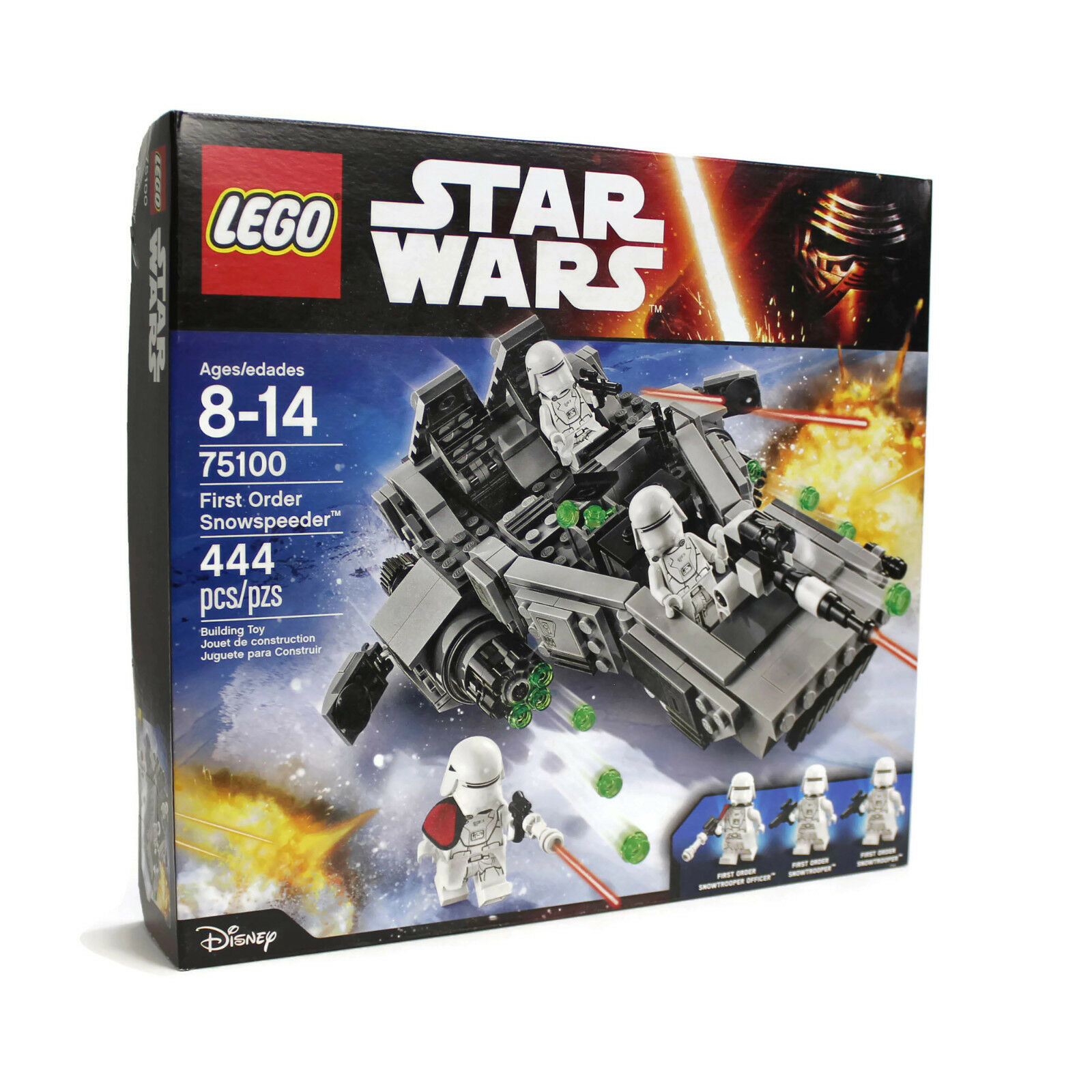 LEGO Star Wars FIRST ORDER SNOWSPEEDER 75100   NEW Sealed NIB   2015 Retired